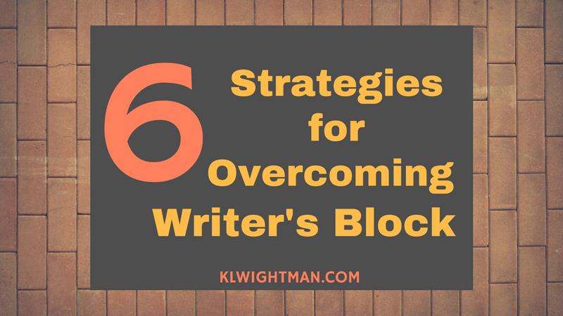 6 Strategies for Overcoming Writer's Block