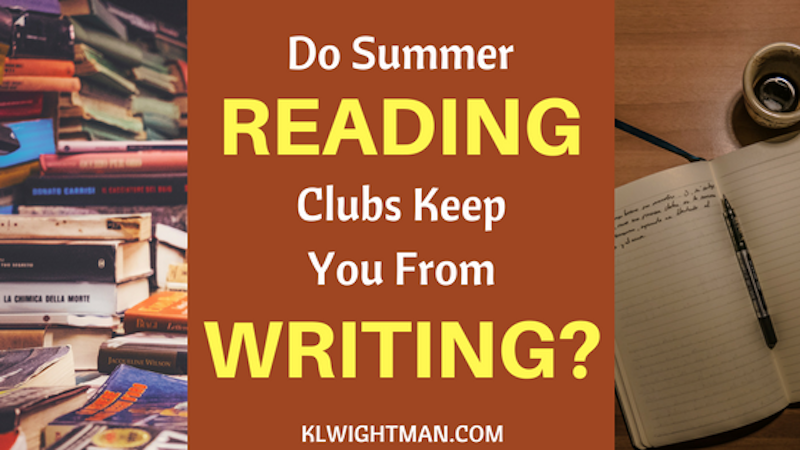 Do Summer Reading Clubs Keep You From Writing?