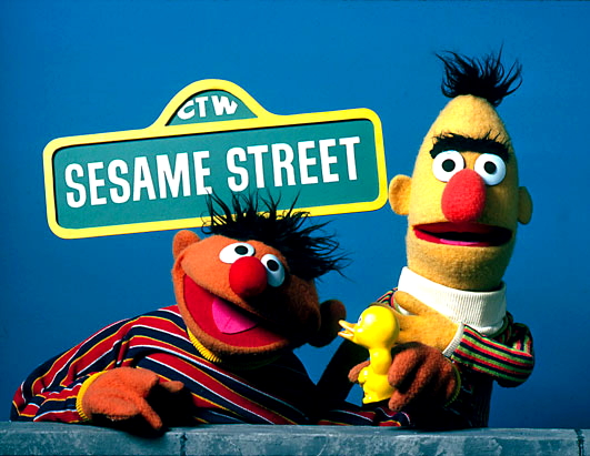 Sesame Street's Ernie is a Jerk to Bert