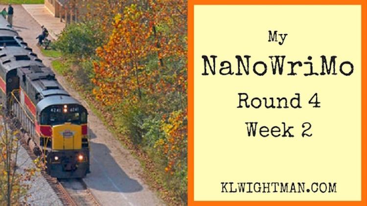 My NaNoWriMo Round 4: Week 2