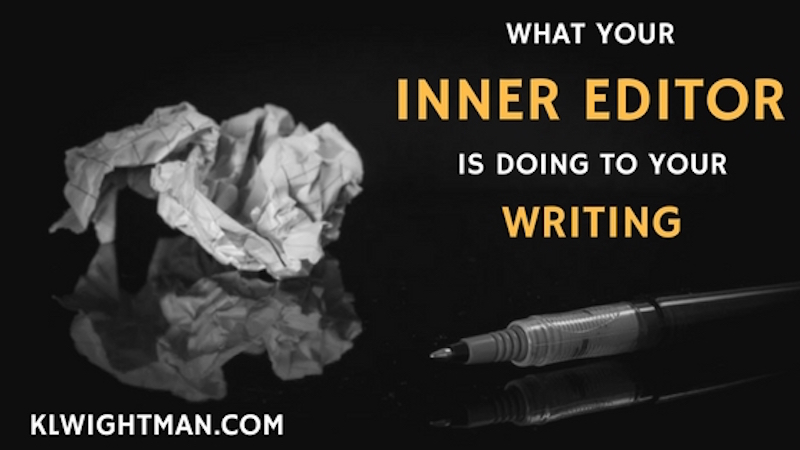 What Your Inner Editor is Doing to Your Writing