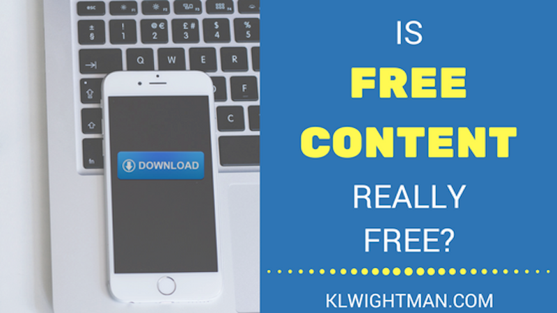 Is Free Content Really Free?