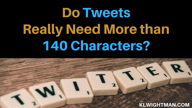 Do Tweets Really Need More Than 140 Characters?