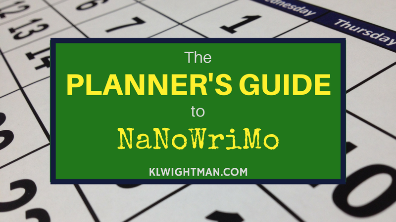 The Planner's Guide to NaNoWriMo