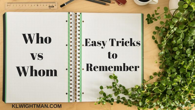 Who vs Whom: Easy Tricks to Remember