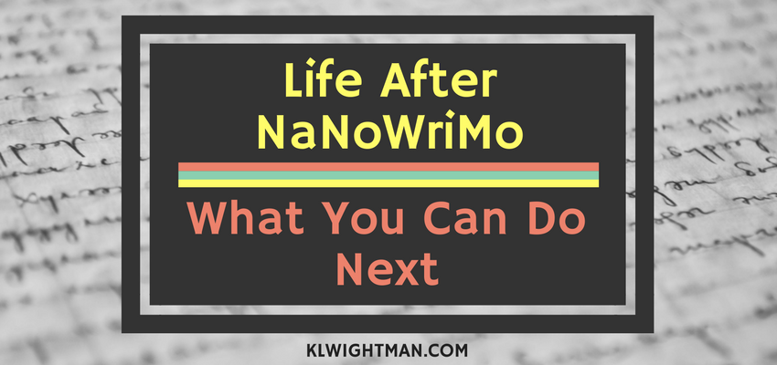 Life After NaNoWriMo: What You Can Do Next