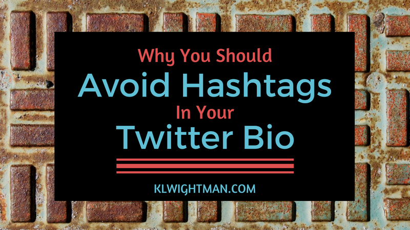 Why You Should Avoid Hashtags in Your Twitter Bio
