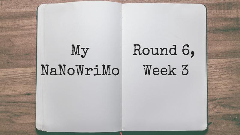 My NaNoWriMo: Round 6, Week 3