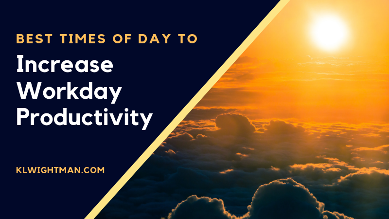 Best Times of Day to Increase Workday Productivity