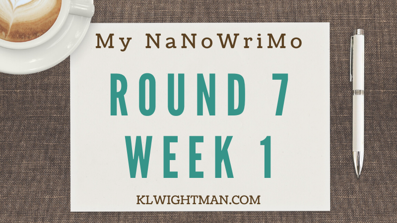 My NaNoWriMo Update: Round 7, Week 1
