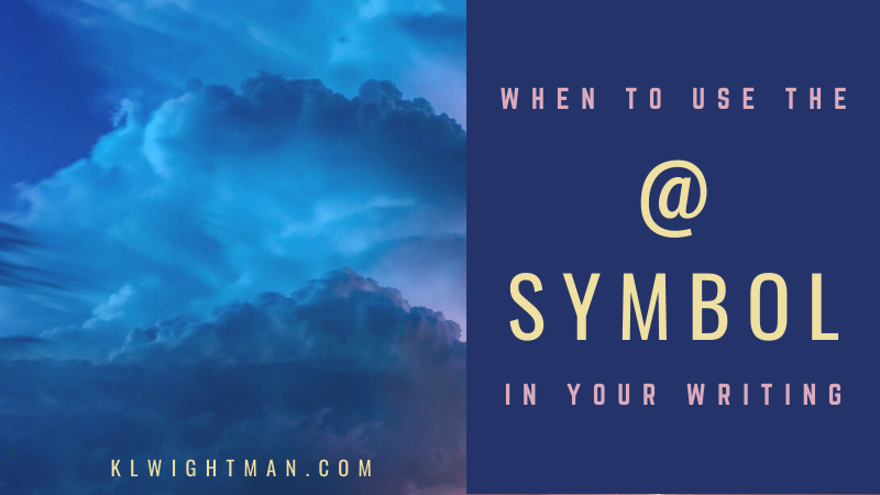 When to Use the @ Symbol in Your Writing