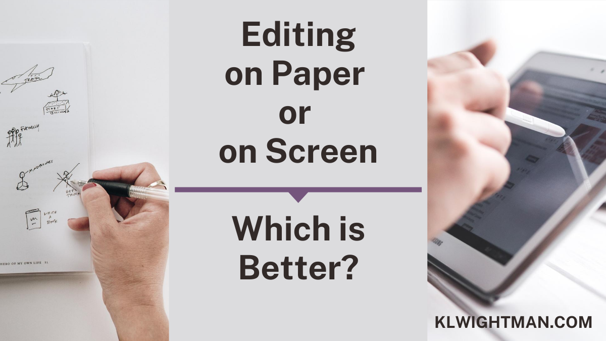 Editing on Paper or on Screen: Which is Better?