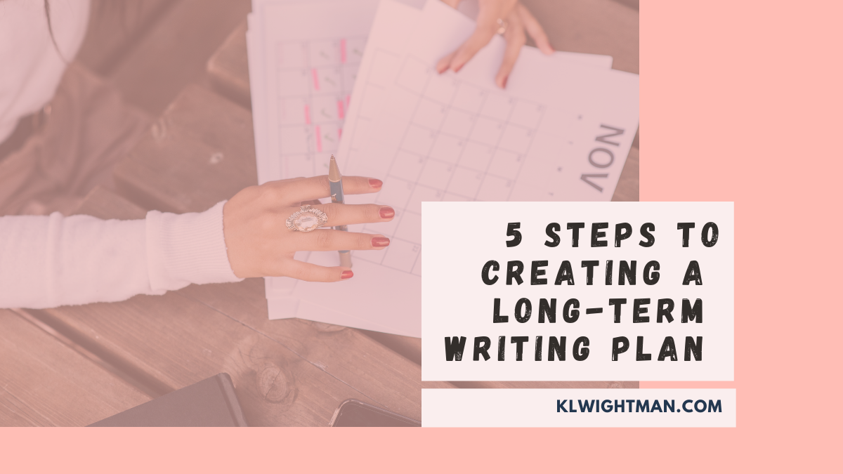 5 Steps to Creating a Long-Term Writing Plan